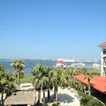 Photo taken at Charleston Harbor Resort & Marina by Mark W. on 7/10/2012