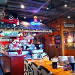 Photo taken at Bubba Gump Shrimp Co by Chris K. on 9/1/2012