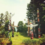 Photo taken at Stanley Park by Anna B. on 6/22/2012