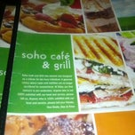 Photo taken at Soho Cafe & Grill by Patrick H. on 8/7/2012