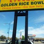 "Photo taken at Golden Rice Bowl by Odessa ""odotte"" D. on 6/17/2012"