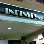 Photo taken at Infinity Hair Salon by ko e. on 4/5/2012