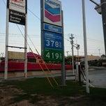 Photo taken at Chevron by Kedric K. on 4/1/2012