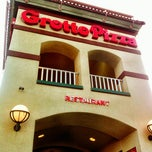 Photo taken at Grotto Pizza by Joan F. on 7/1/2012