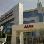 Photo taken at American University of Kuwait by F🔒 on 4/11/2012