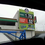 Photo taken at Posto Carrefour by Rodrigo B. on 4/30/2012