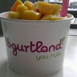 Photo taken at Yogurtland by Cristy R. on 4/25/2012