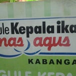 Photo taken at Gule Kepala Ikan Mas Agus by A U. on 9/12/2012