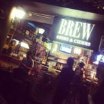 Photo taken at BREW Beers & Ciders by Gio Song @. on 8/7/2012