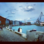 Photo taken at Hafen by Olaf T. on 7/18/2012