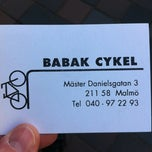 Photo taken at Babak Cykel by Michael S. on 5/3/2012