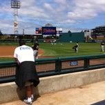 Photo taken at Cheney Stadium by Ginny-Beth J. on 6/10/2012