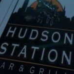 Photo taken at Hudson Station Bar & Grill by Z W. on 4/5/2012