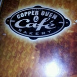 Photo taken at Copper Oven by ben s. on 4/20/2012