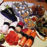 Photo taken at Blue Pacific Sushi & Grill by Stephanie M. on 2/4/2012