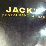 Photo taken at Jack's Restaurant & Bar by Alex C. on 6/17/2012