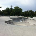 Photo taken at Wilson Skate Park by Royal Flesh Tattoo and Body Piercing on 8/20/2012