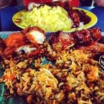 Photo taken at Restaurant Biriyani Sri Manjung by Dexter T. on 3/18/2012
