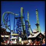 Photo taken at Six Flags New England by Aint M. on 9/2/2012