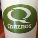 Photo taken at Quiznos by Matthew R. on 2/23/2012