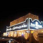 Photo taken at Reem al Bawadi مطعم ومقهى ريم البوادي by Jad K. on 8/11/2012