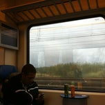 Photo taken at Sneltrein Sloterdijk - Amsterdam CS by Mieke B. on 3/31/2012