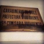 Photo taken at 19° Comisaría Carabineros Providencia by Dani B. on 6/16/2012
