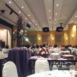 Photo taken at Dewan Merak Kayangan by Zulhazdie D. on 9/10/2012