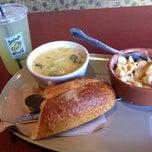 Photo taken at Saint Louis Bread Co. by Jenna G. on 3/14/2012