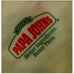 Photo taken at Papa John's by Jelai P. on 2/25/2012
