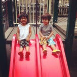 Photo taken at Carroll Park Playground by Dave E. on 6/9/2012