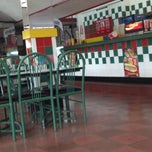 Photo taken at Mario's Pizza, Valpark Plaza by Stephanie B. on 4/23/2012