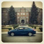 Photo taken at College Hall (Arts & Sciences) by My GU Civic Coupe on 4/3/2012