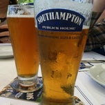 Photo taken at Southampton Publick House by Samantha M. on 6/23/2012