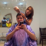 Photo taken at Fabi's Hair Studio by Jorge L. on 8/25/2012