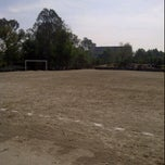 Photo taken at Cancha 4 - Liga UNAM by I P U. on 6/2/2012