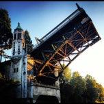 Photo taken at Montlake Bridge by Eben H. on 8/5/2012
