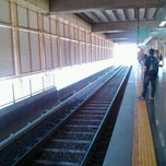 Photo taken at Estação Ceilândia Sul - METRÔ-DF by Leonardo N. on 8/25/2012