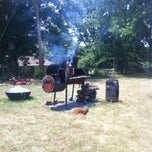 Photo taken at Pit-Master Patton's Holy Smoke BBQ by Les P. on 7/3/2012