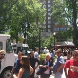 Photo taken at Court Square by Neosoulville on 5/10/2012