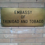 Photo taken at Embassy Of The Republic of Trinidad and Tobago by Jon P. on 7/21/2012