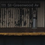 Photo taken at MTA Subway - 111th St/Greenwood Ave (A) by Tamara B. on 4/22/2012