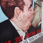 Photo taken at East Side Gallery by Vicente S. on 7/10/2012