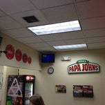 Photo taken at Papa John's Pizza by Ron M. on 4/27/2012