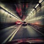 Photo taken at Holland Tunnel by Emil C. on 9/3/2012