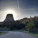 Photo taken at Devils Tower National Monument by James A. on 5/9/2012