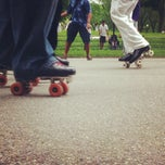 Photo taken at Dance Skate Circle-Central Park by Jory C. on 5/26/2012