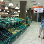 Photo taken at Carrefour Market Menzah 9 by Nabli R. on 7/9/2012