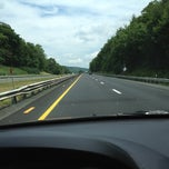 Photo taken at Mass Pike by Lisa C. on 7/19/2012
