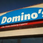 Photo taken at Domino's Pizza by Brandon Z. on 3/4/2012
